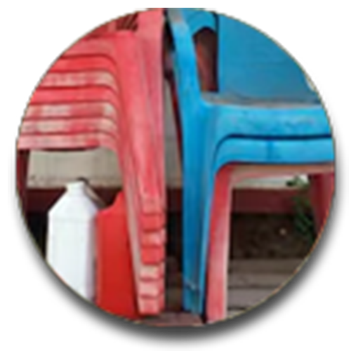 Plastic seats / chairs recycling in Birmingham